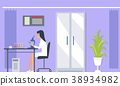 Laboratory Assistants Research Vector Illustration 38934982