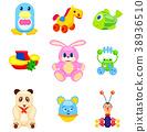玩具 塑料 柔軟 38936510