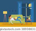 sleep illustration vector 38936631