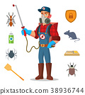 Pest Control Vector. Prevention From Infection 38936744