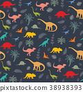恐龙 矢量 矢量图 38938393