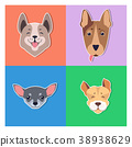 dog muzzle cartoon 38938629