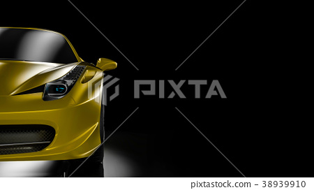 Front view sport car 38939910