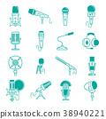 microphone, vector, radio 38940221