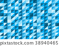 Blue abstract background vector design. 38940465