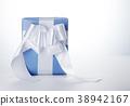 선물, 리본, 파랑 38942167