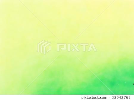 绿色水彩背景 38942765