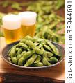 맥주, 손잡이, 음식 38944691