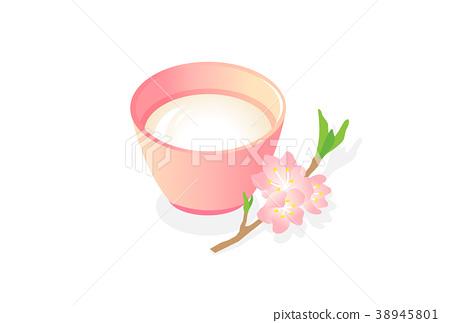 Peach blossoms 38945801