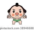 싸움 스모 선수 38946688