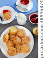 scones, cheese, baked 38946874
