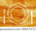 木製背景 木紋 原木 38947472