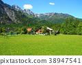 Hallstat - beautiful Alpine paradise village 38947541