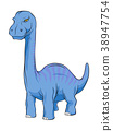 Apatosaurus Dinosaur, Long Neck Creature Monster. 38947754