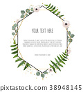 leaf, wreath, floral 38948145