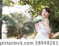 舞會禮服女性新娘新娘 38948261