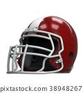 Old American Football Helmet 38948267