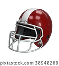 Old American Football Helmet 38948269