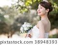 舞會禮服女性新娘新娘 38948393