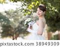 舞會禮服女性新娘新娘 38949309