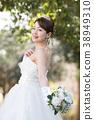 舞會禮服女性新娘新娘 38949310