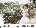 舞會禮服女性新娘新娘 38949885