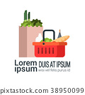 basket, grocery, bag 38950099