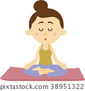 瑜伽 瑜珈 運動 38951322