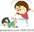 ภาพประกอบภาพประกอบความรุนแรงในครอบครัว (หญิง) 38952038