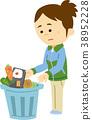 음식 쓰레기 38952228