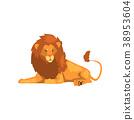 사자, 거짓말, 사냥꾼 38953604