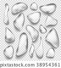 Water Drops Vector. Freshness Concept. Liquid 38954361