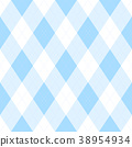 Light blue argyle seamless pattern background 38954934