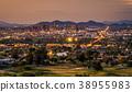 Phoenix Arizona skyline at sunset 38955983