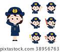女性警察 警察 變體 38956763
