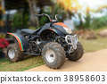ATV motorcycle for rentals service at the resort 38958603