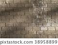 隧道墙壁与光 shadow of sunshine on tunnel wall トンネルの壁と光 38958899