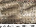 隧道墙壁与光 shadow of sunshine on tunnel wall トンネルの壁と光 38958901