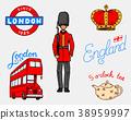 england, london, vector 38959997