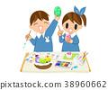 蛋 繪畫 幼兒園兒童 38960662