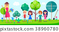 Botanical Garden Excursion for Little Children 38960780
