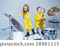 instrument, musician, girl 38961115