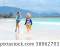 beach, play, kid 38962703