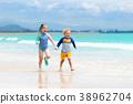 beach, play, kid 38962704