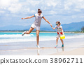 beach, child, family 38962711