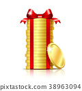 gift bow ribbon 38963094