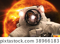 Asrtonaut in the space 38966183