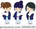 여성, 여자, 온천 38966585