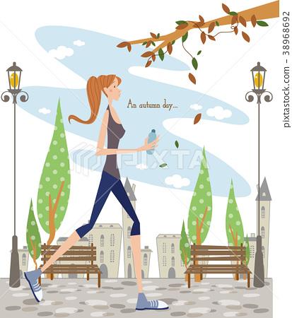 Autumn image, illustration 38968692