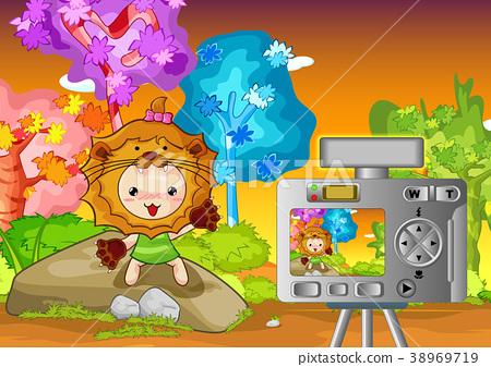 Travel image, illustration 38969719